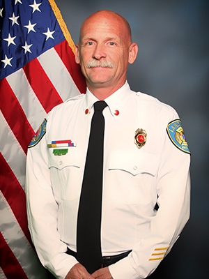 A picture of division Chief Matt Warner