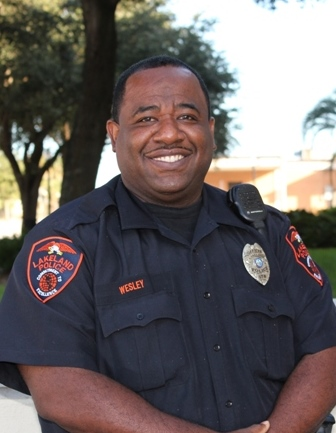 A picture of Officer Wesley