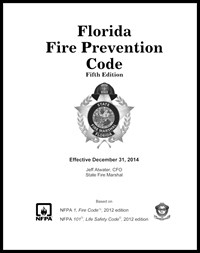 A photo of the Florida Fire Prevention Code 5th Edition publication