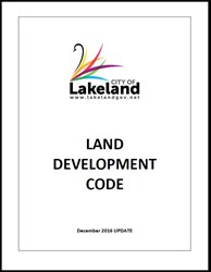 A photo of the City of Lakeland Land Development Code