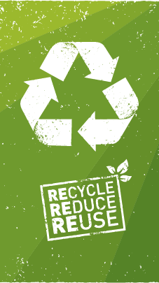 A picture of Recycle, Reduce, and Reuse Flyer