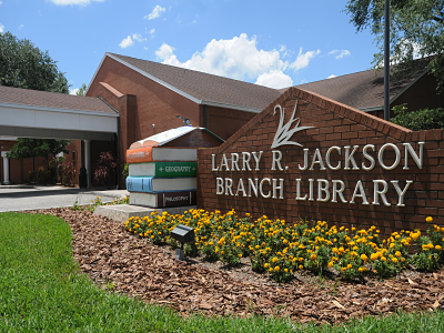 A picture of Larry R. Jackson Branch Library
