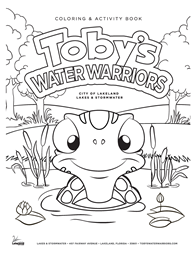 Toby's Water Warriors Coloring Page 1