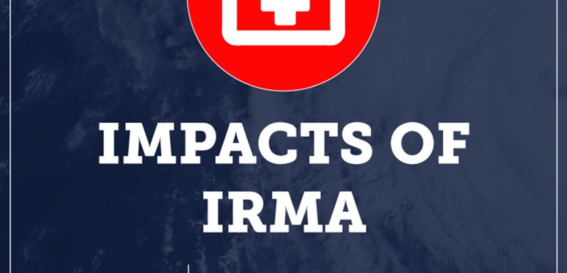 Impacts of Irma Graphic