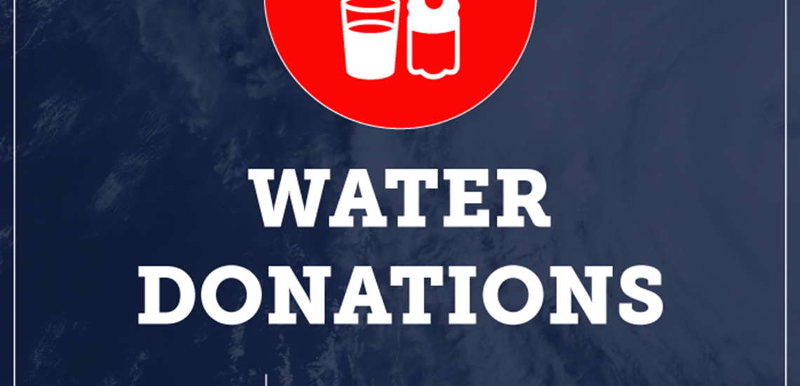 Water Donations Graphic