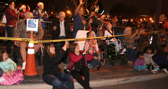 2017 Christmas Parade Accessible Area
