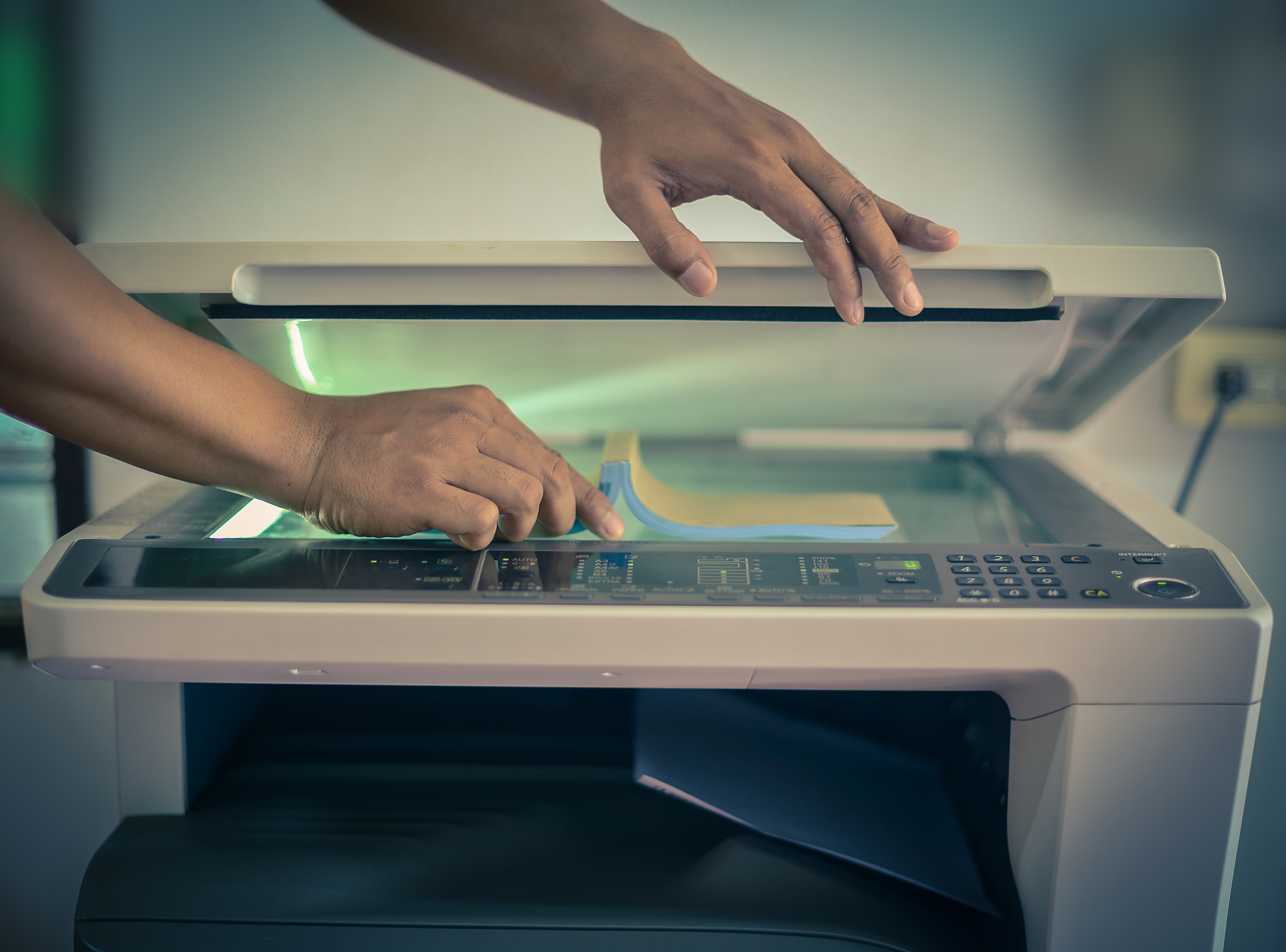 A picture of Photocopying
