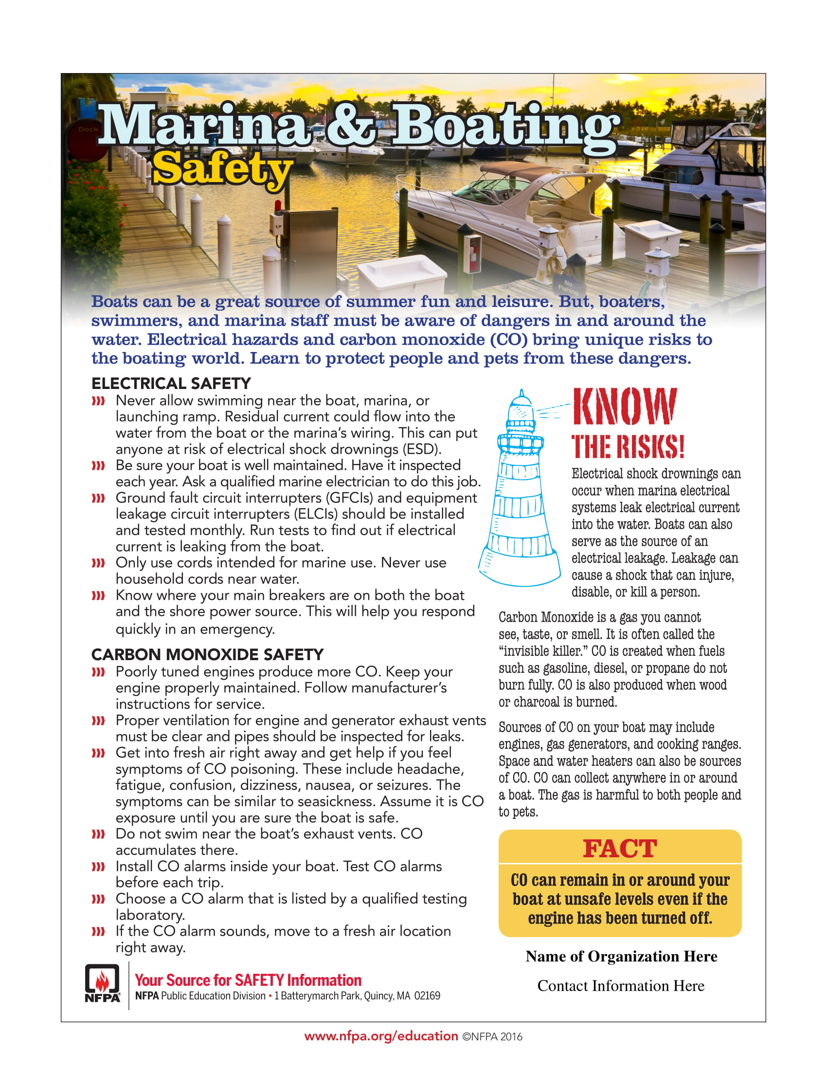 A picture of Boating Safety